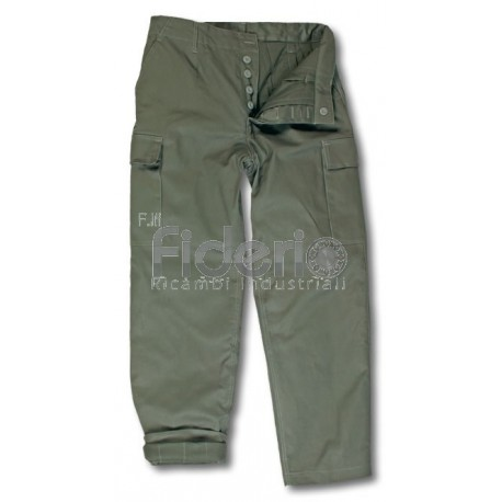 Pantalone CBC invernale imbottito verde.