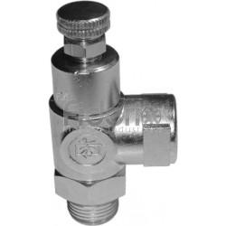 1/4 per tubo da 10 mm Regolatore di flusso per cilindro