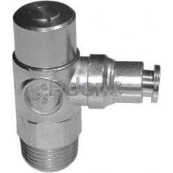 1/8 per tubo da 8 mm Regolatore di flusso per cilindro