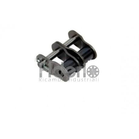 maglia falsa doppia per catena a rulli RCX serie europea passo 3/4 x 7/16 ISO 9001 12B2