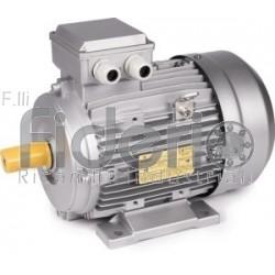 motore elettrico trifase 4 poli HP 0,33 KW. 0,25 b3