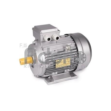 motore elettrico trifase 4 poli HP 0,50 KW. 0,37 B3