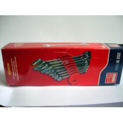 252N/SR8 Serie di 8 chiavi a forchetta doppie